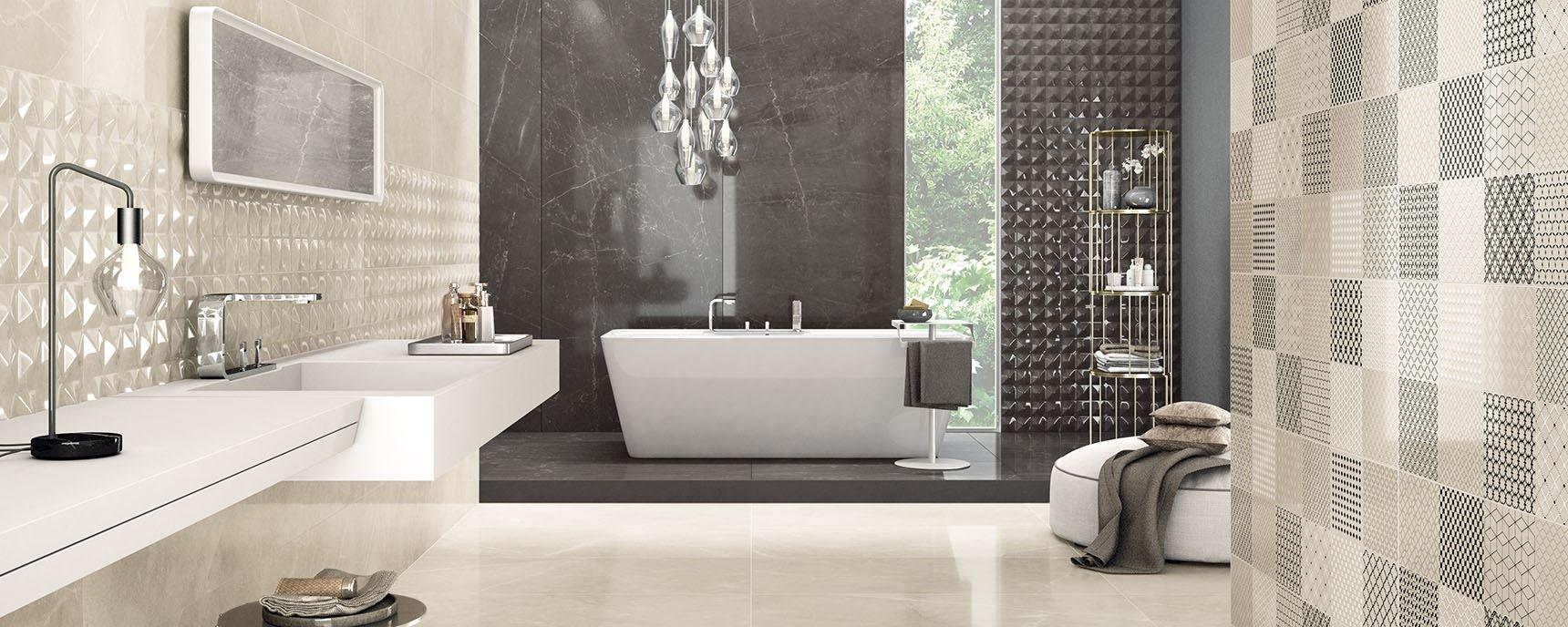 Trilogy: Fliesen in Marmoroptik für elegante Badezimmer