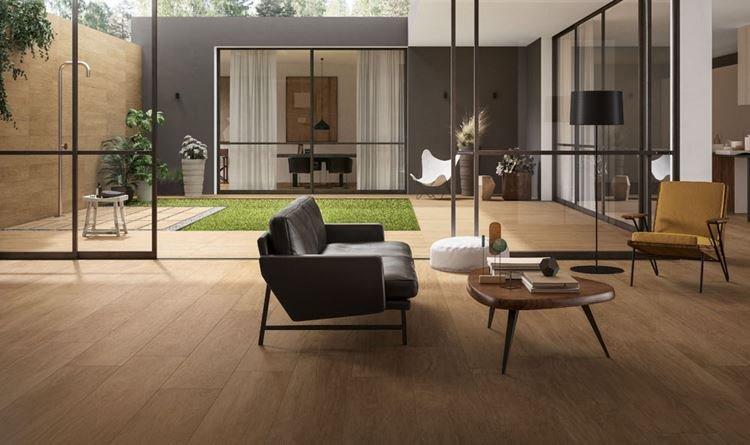 Fußboden Aus Feinsteinzeug Mit Holzoptik Warum Fliesen Und Nicht - Fliesen steinzeug unterschied