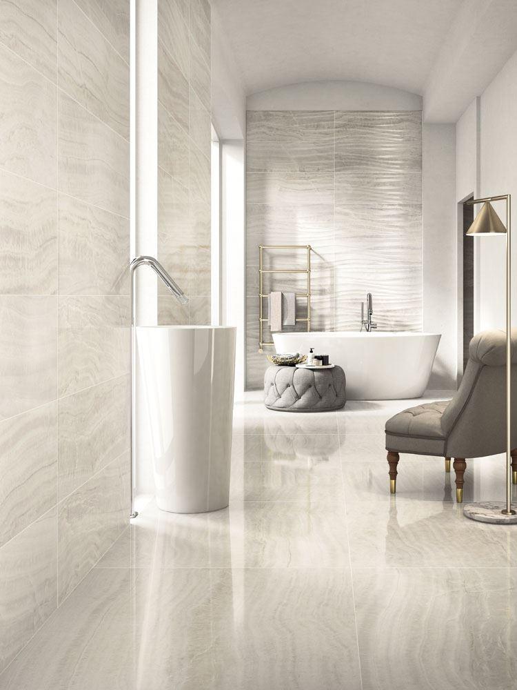 Trilogy Fliesen In Marmoroptik Für Elegante Badezimmer - Bad fliesen marmoroptik